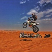 Dirt bike adventure Dubai