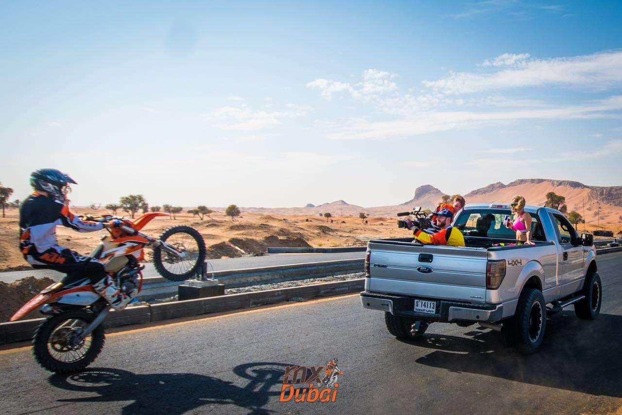 KTM Bike stunt