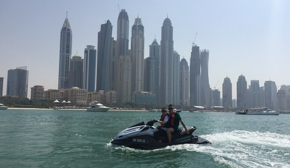 Jet ski in dubai
