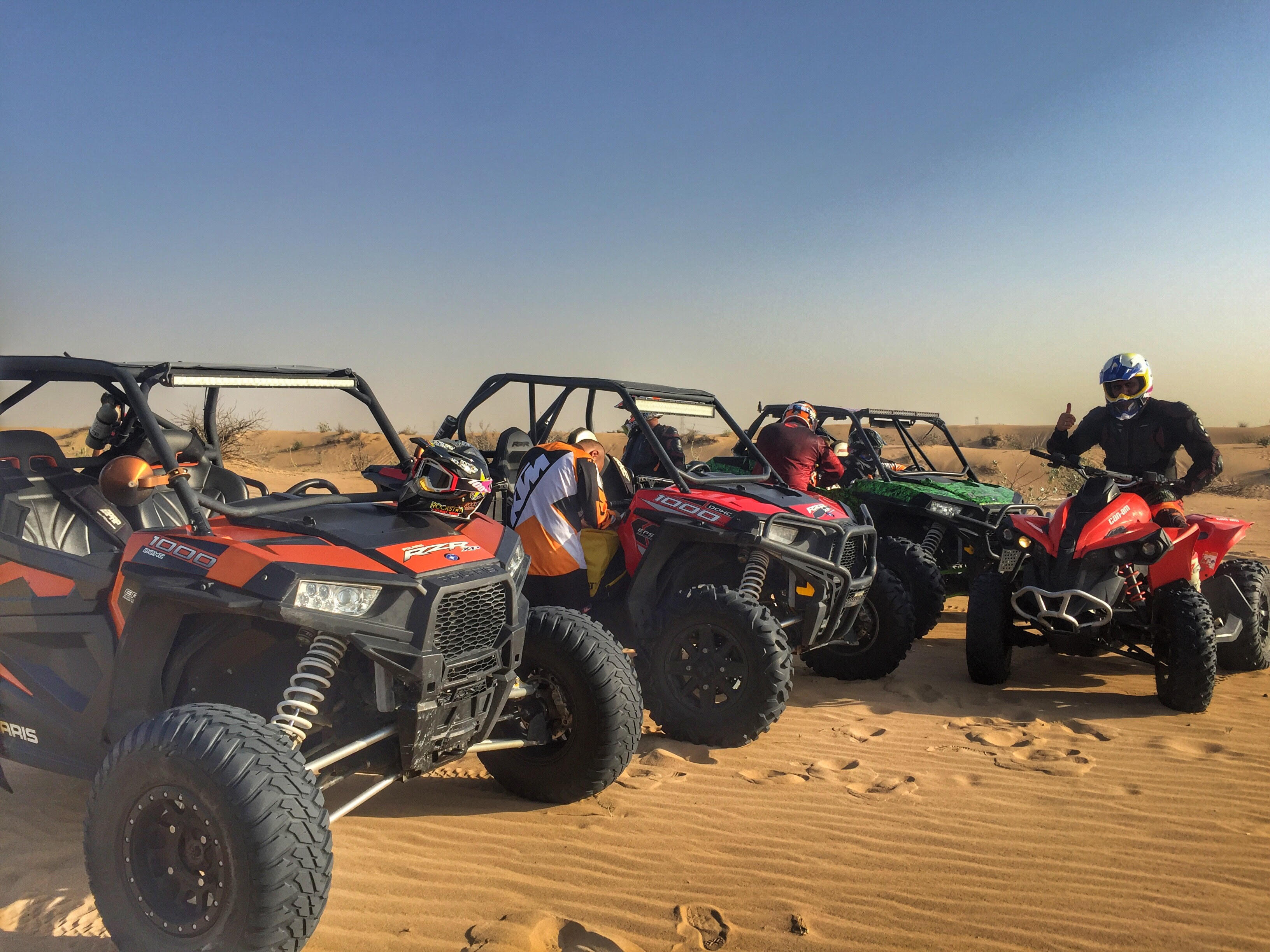 dune buggies in Dubai
