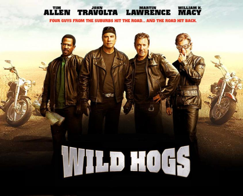 Movie - Wild hogs