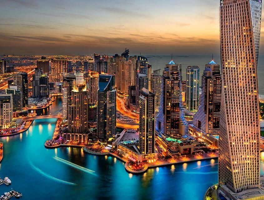 6. Best location to see Dubai Skyline