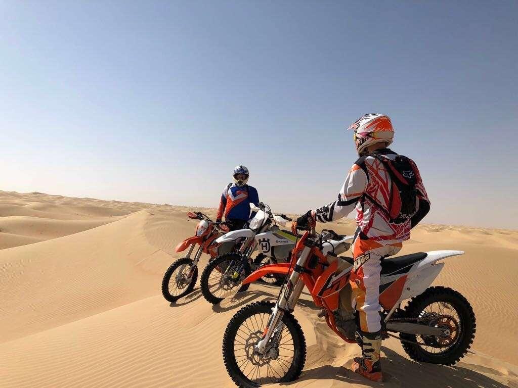 motocross desert tour