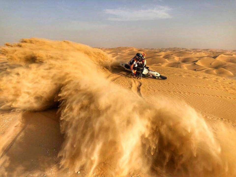 mxdubai sand dune motorbike ride